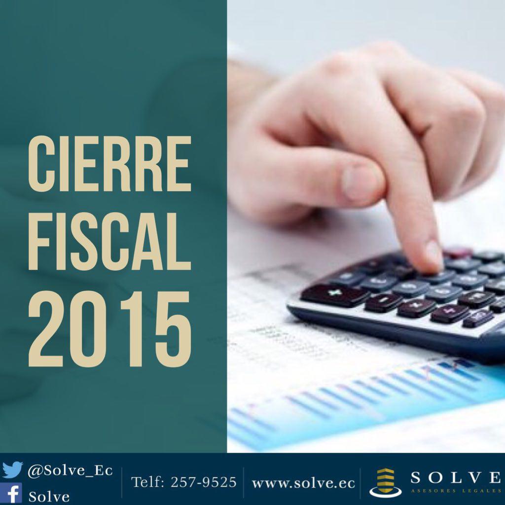 Recomendaciones para el Cierre Fiscal 2015