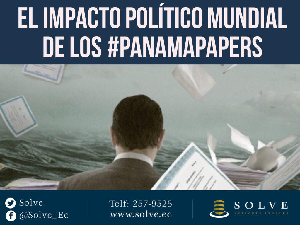 El impacto político mundial de los Panamá Papers