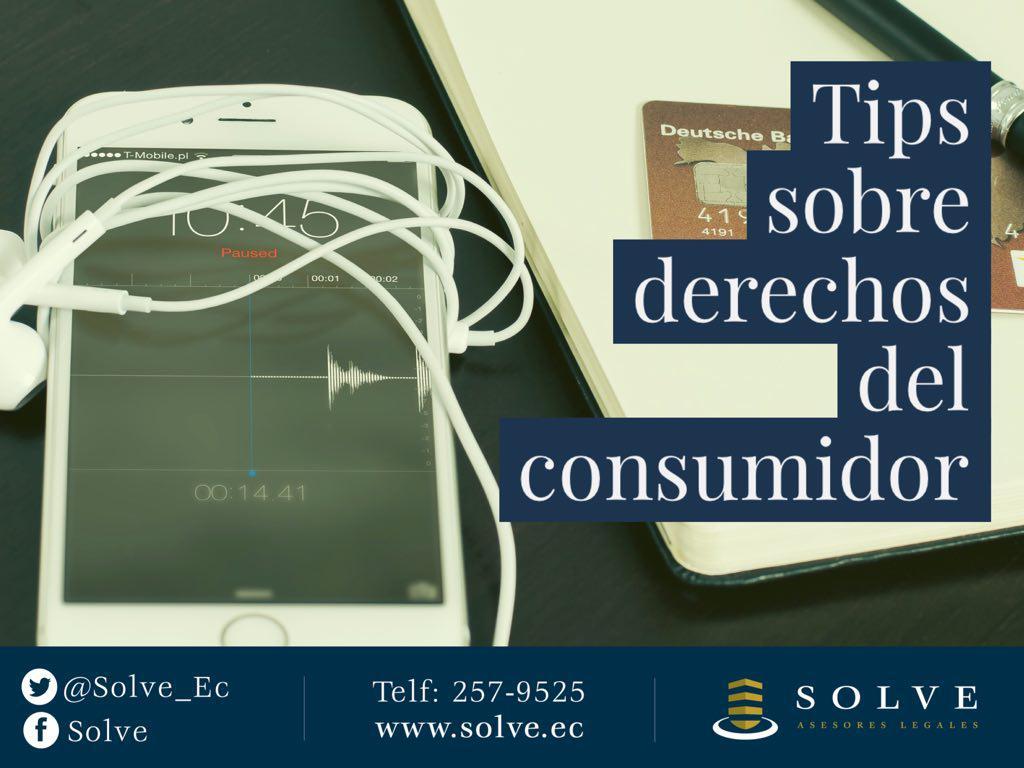 TIPS PARA LOS CONSUMIDORES