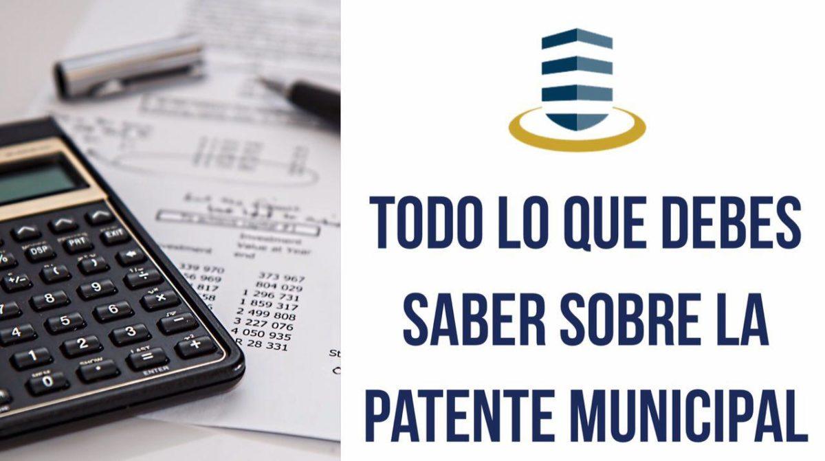 Guía práctica para el pago de la Patente Municipal